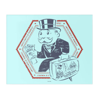 United States of Monopoly Acrylic Wall Art