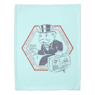 United States of Monopoly Duvet Cover