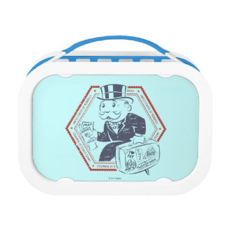 United States of Monopoly Lunch Box