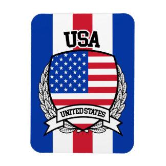 United States Rectangular Photo Magnet