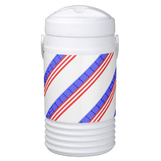 United States stripes flag Cooler