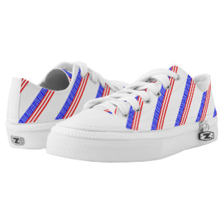 United States stripes flag Low-Top Sneakers