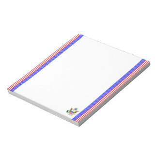 United States stripes flag Notepad