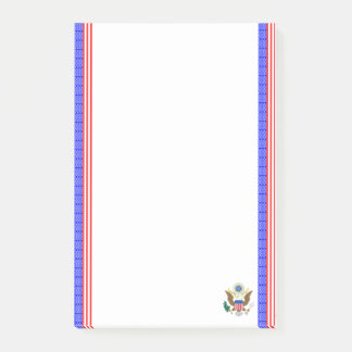 United States stripes flag Post-it Notes