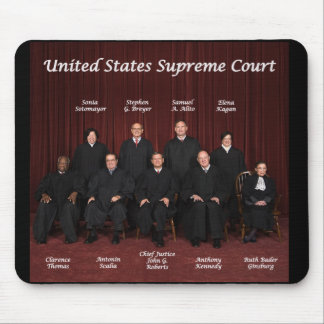 United States Supreme Court Justices Mouse Pads