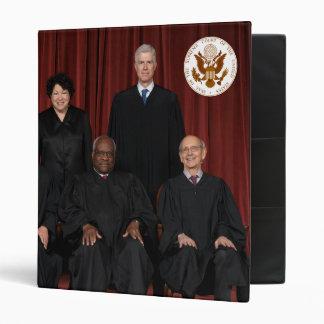 United States Supreme Court Justices & Seal 3 Ring Binder