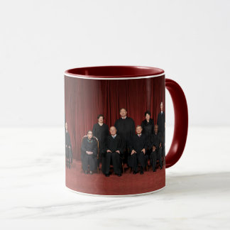 United States Supreme Court Justices & Seal Mug
