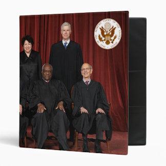 United States Supreme Court Justices & Seal Vinyl Binder