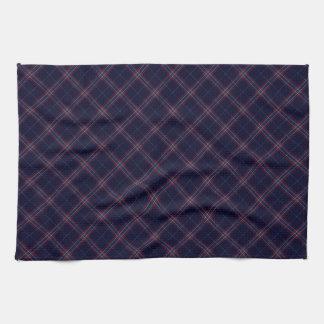 United States Tartan Designed Print (USA) Kitchen Towel