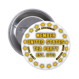 United States Tea Party Pin
