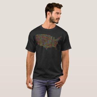 United States Typography T-Shirt