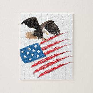 United States US Flag Jigsaw Puzzle