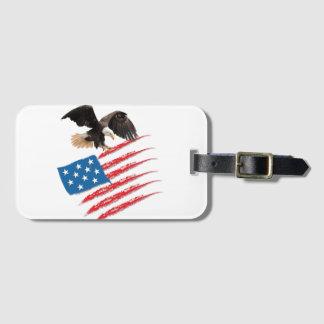 United States US Flag Luggage Tag