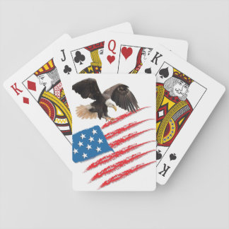 United States US Flag Playing Cards