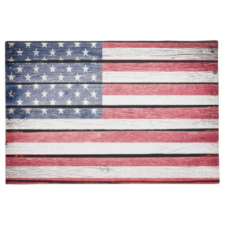 United States USA Flag Doormat