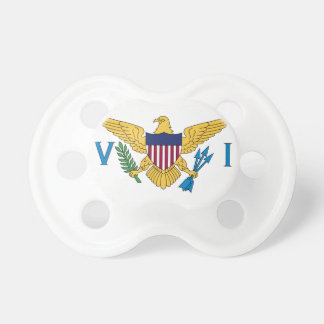 United States Virgin Islands Flag Pacifier