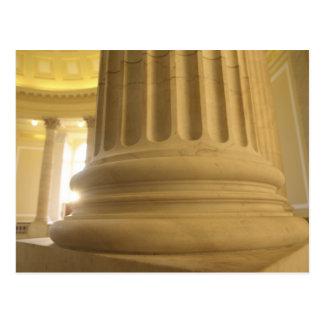 United States, Washington, D.C. A Pillar in the Postcard