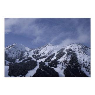 United States, Washington, ski trails at Photo