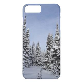 United States, Washington, snow covered trees iPhone 7 Plus Case