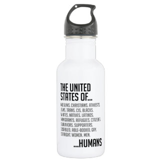 United States Water Bottle