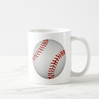 United States White Bright American Baseball Coffee Mug