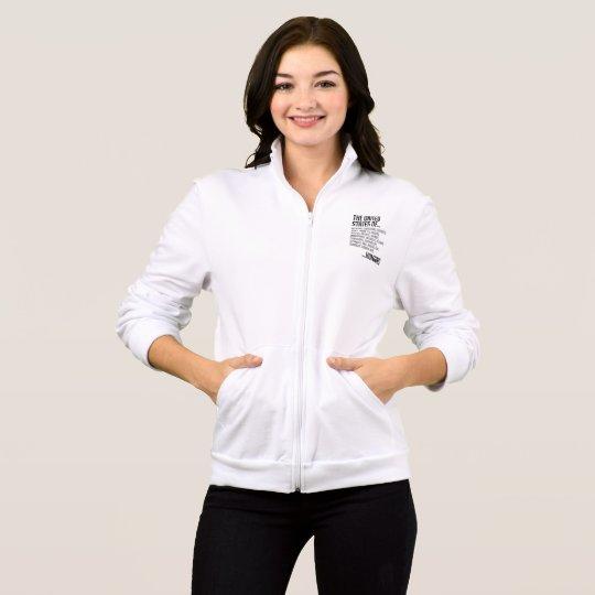 United States Women's Fleece Zip Jog Jacket