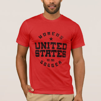 United States Women's Soccer Grunge Men's T-Shirt