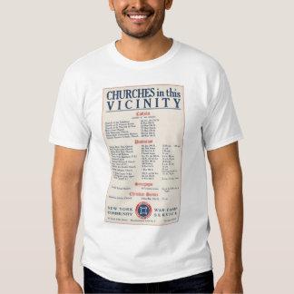 United States World War I Poster WWI T-shirts