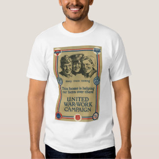 United States World War I Poster WWI Tees