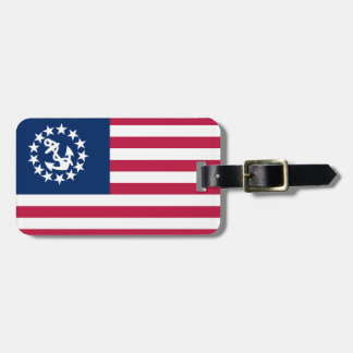 United States Yacht Flag Luggage Tag