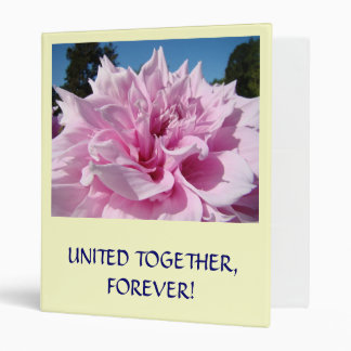 United Together Forever! Photo Memory Book gift 3 Ring Binder