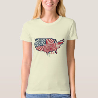 United USA Gal's T-shirt