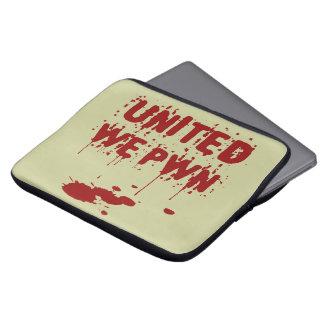 United We PWN Laptop Computer Sleeves