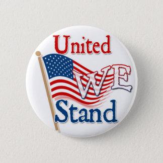 United We Stand 2 Inch Round Button