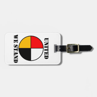 United We Stand Bag Tag