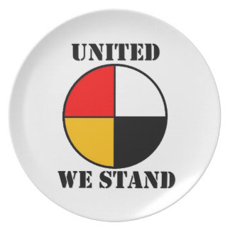 United We Stand Dinner Plates