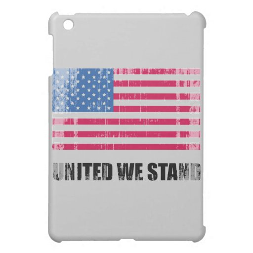 United we stand Faded.png Case For The iPad Mini