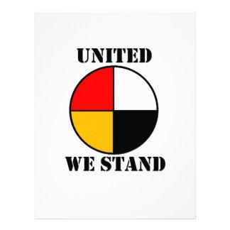 United We Stand Letterhead