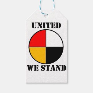 United We Stand Pack Of Gift Tags