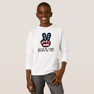 UNITED WE STAND: Peace Sign T-Shirt