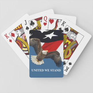 United We Stand Playing Cards