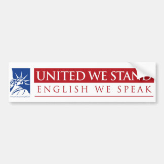 United We Stand_Sticker Bumper Sticker