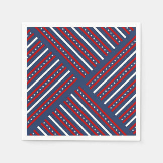 United We Stand Veterans Day Party Paper Napkins