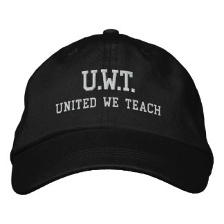 UNITED WE TEACH™ Embroidered Hat