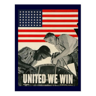 United We Win Postcard