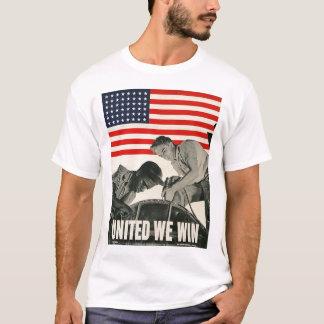United We Win World War II T-Shirt