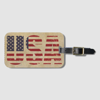 Unites States flag Luggage Tag