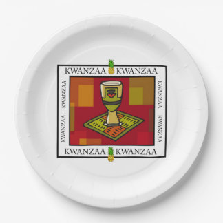 Unity Cup Kwanzaa Party Paper Plates