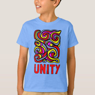 """Unity"" Kids' Hanes TAGLESS® T-Shirt"