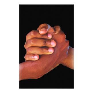 Unity & Love,Hand In Hand_ Custom Stationery